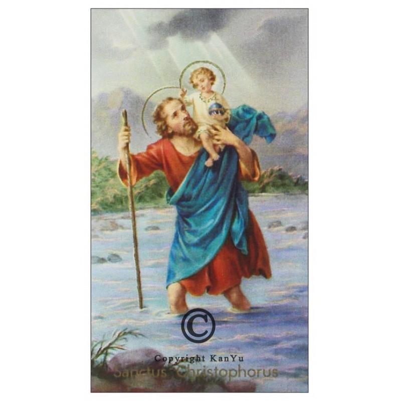 noveenkaars Heilige Christoffel NOV00531